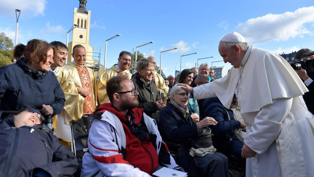 Messa Papa Francesco Tallin