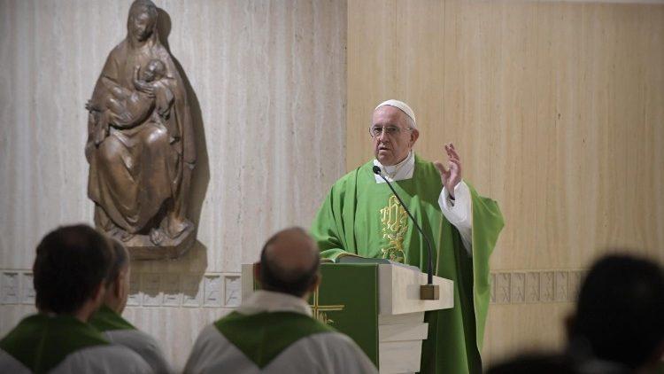 Papa Francesco Santa Marta 18 settembre 2018