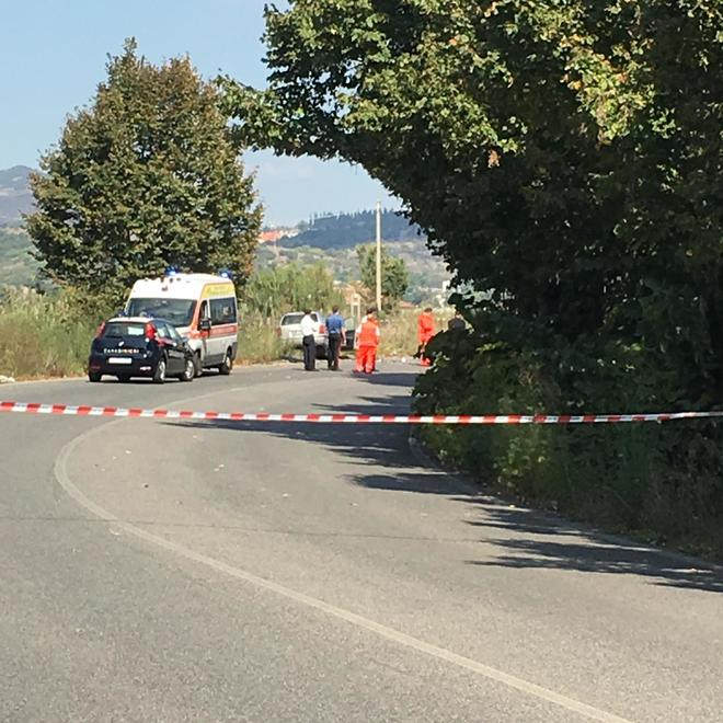 foto incidente guidonia