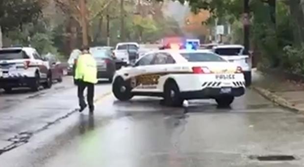 sparatoria sinagoga