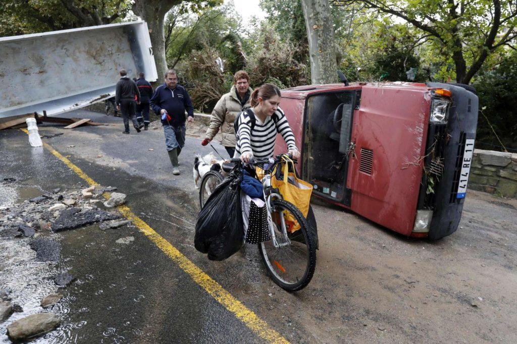 Francia inondazioni