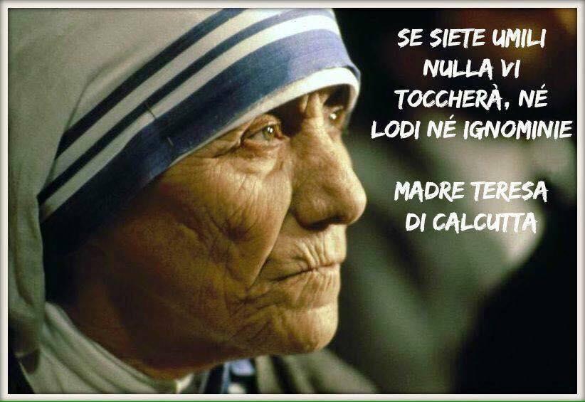 Il consiglio di Madre Teresa.