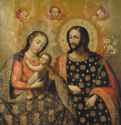 Sacra Famiglia.Perù