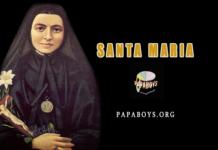 20 Ottobre - Santa Maria Bertilla Boscardin