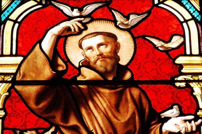 Benedizione di San Francesco