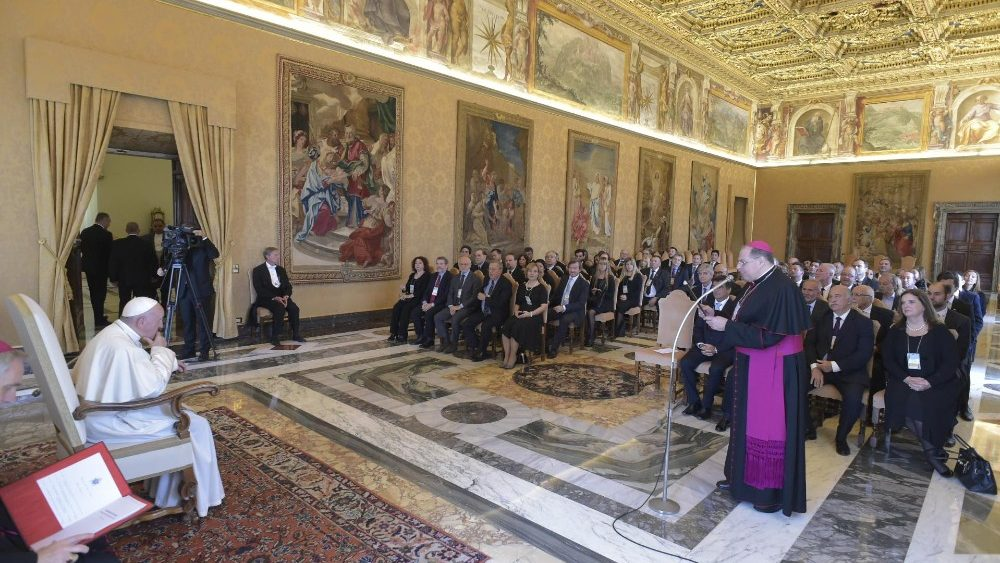 Papa Francesco rosminiani