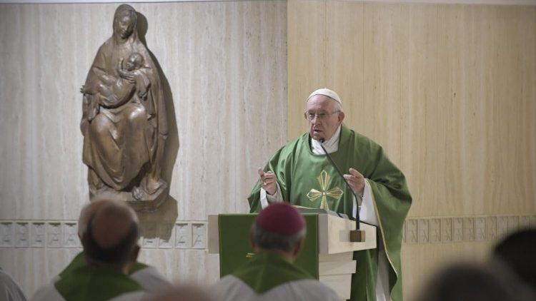 papa francesco oggi