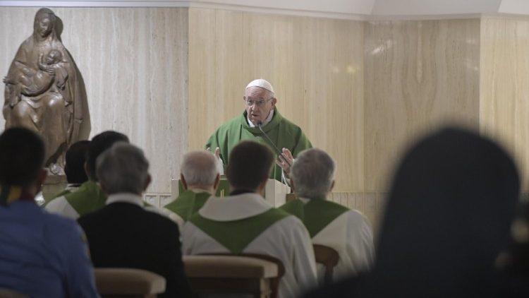 Papa Francesco 5 ottobre 2018