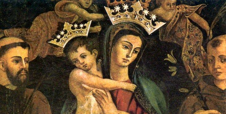 Supplica potente alla Vergine del Rosario di Pompei da recitare ...