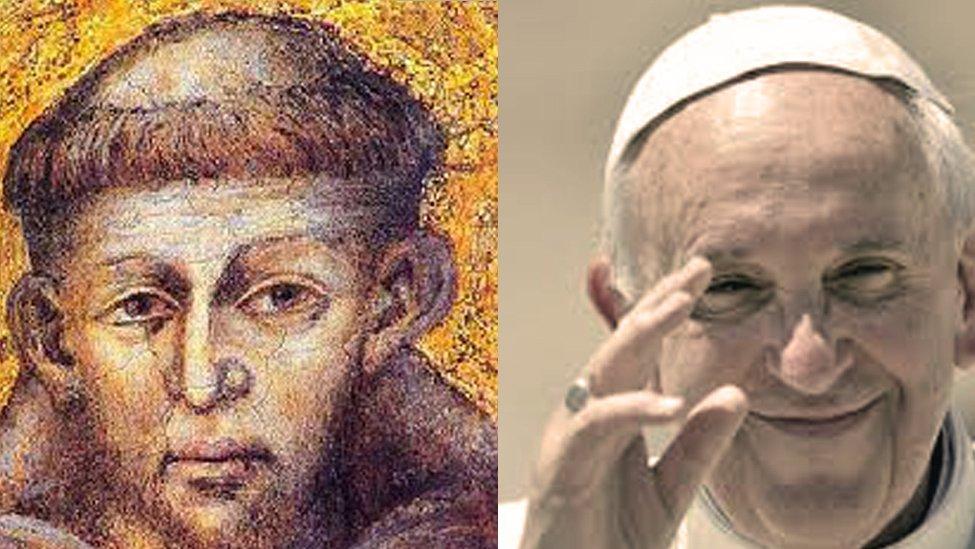 papa francesco san francesco2