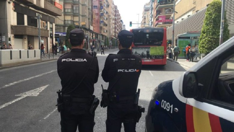 policia espana