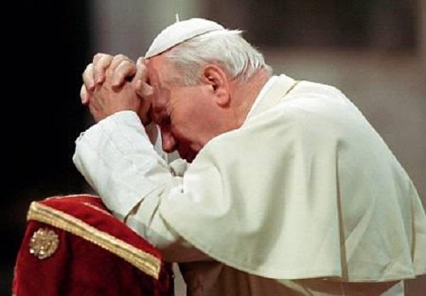 giovanni paolo II prega
