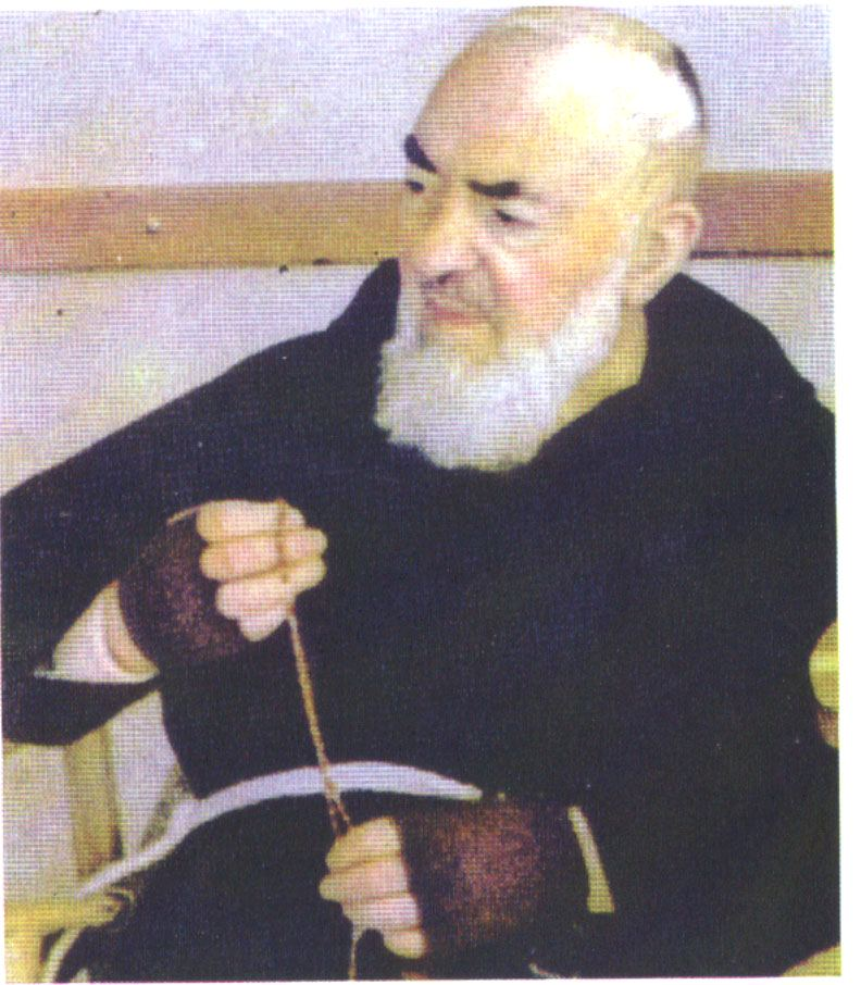 Padre Pio il rosario