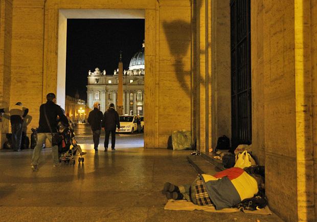 Homeless-Vatican2