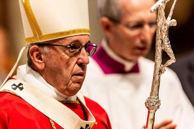 Papa Francesco celebra la Messa per i cardinali defunti Foto: Daniel Ibanez, ACI Group