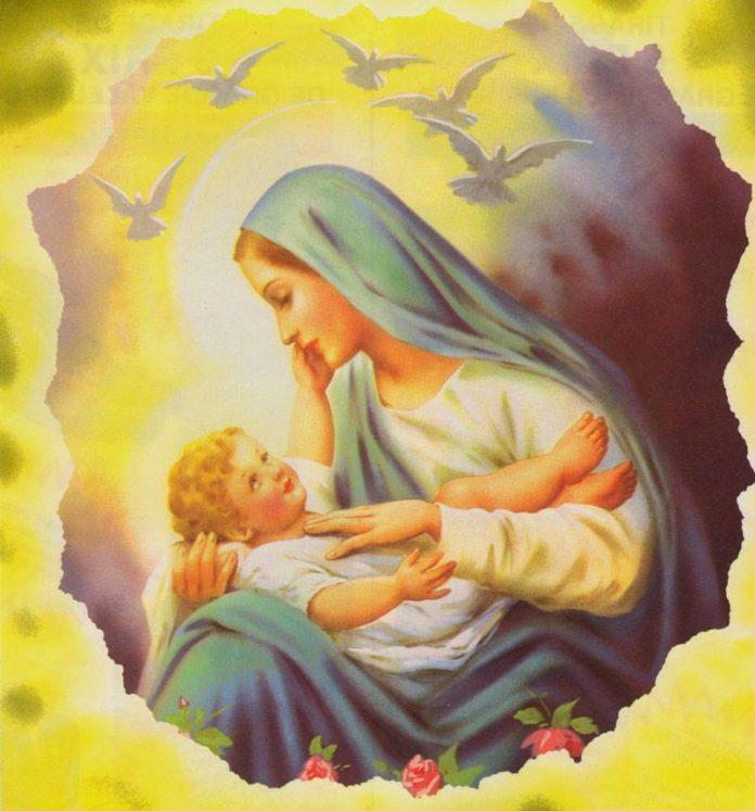 Ogni Giorno Una Lode a Maria, 24 dicembre 2020. Madre Santa dell'attesa, prega per me!