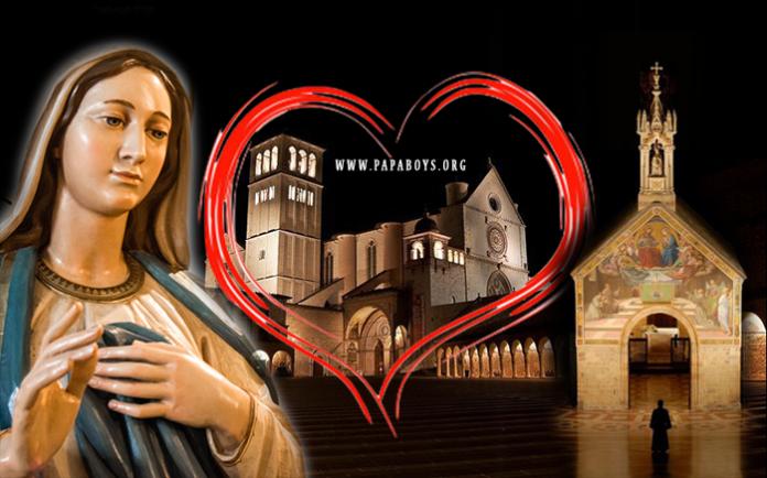 Madonna Frati Assisi