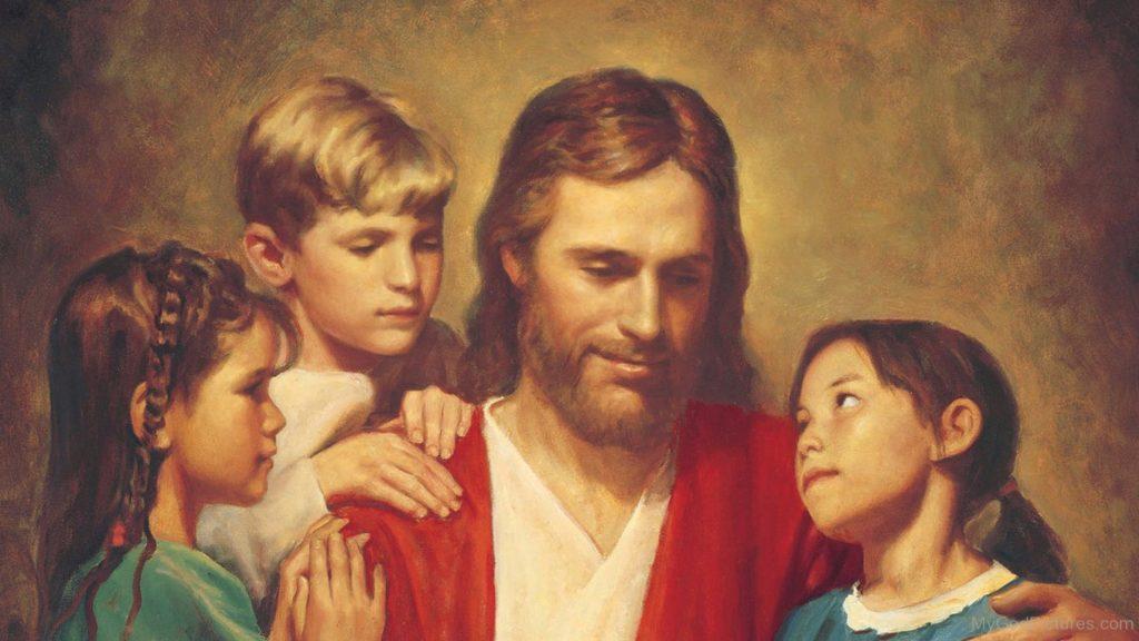 Jesus-Christ-With-Children