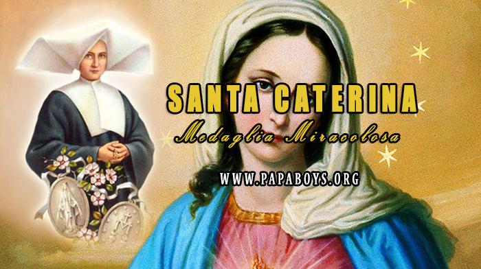 Il Santo di oggi 31 Dicembre 2018 Santa Caterina Labouré, vergine