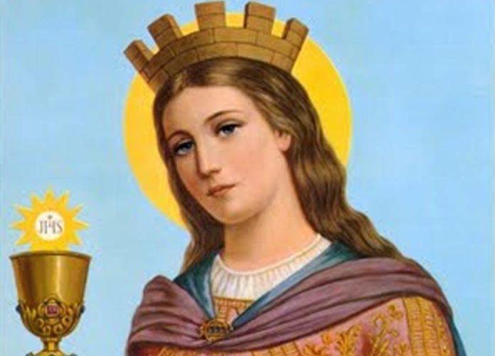"""Preghiera per la festa di Santa Barbara, la martire del fuoco """"sequestrata"""" dal padre"""