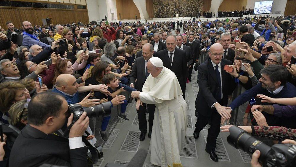 papa francesco.udienzaoggi