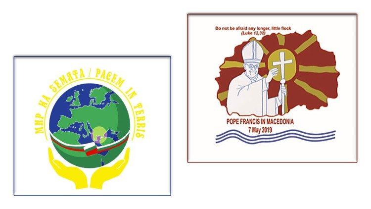 Loghi viaggio apostolico in Bulgaria e Macedonia
