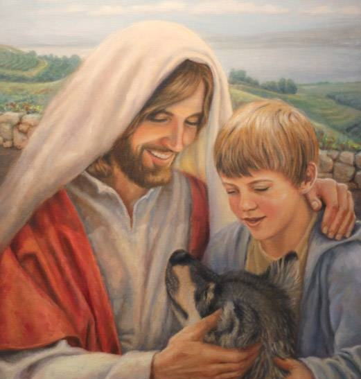 jesus-christ-the-lord-god-made-them-all-painting-by-karen-foster