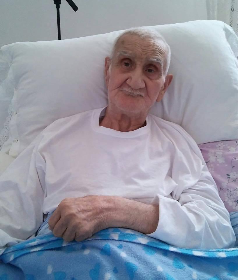nonno mariano 90 anni è morto