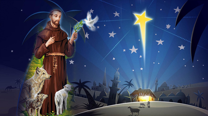 san francesco e il santo natale