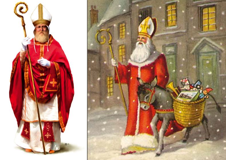 Babbo Natale E San Nicola.Il Santo Di Oggi 6 Dicembre 2018 San Nicola Da Bari Vescovo