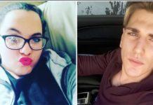 Aurora Traversi, di 15 anni eAgostino Antonacci, di 17