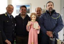 Gesù Bambino rubato ritrovato