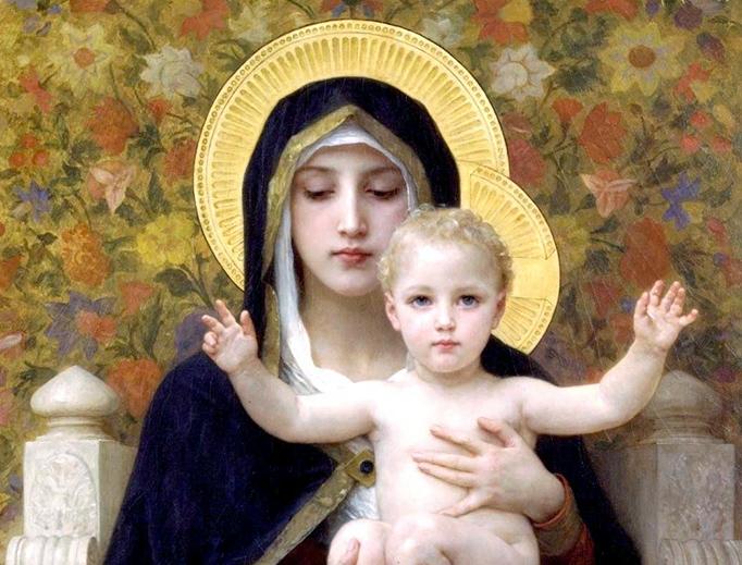 Ogni Giorno Una Lode a Maria, 24 Gennaio 2020. Madre di tutti i bambini del mondo, prega per noi!