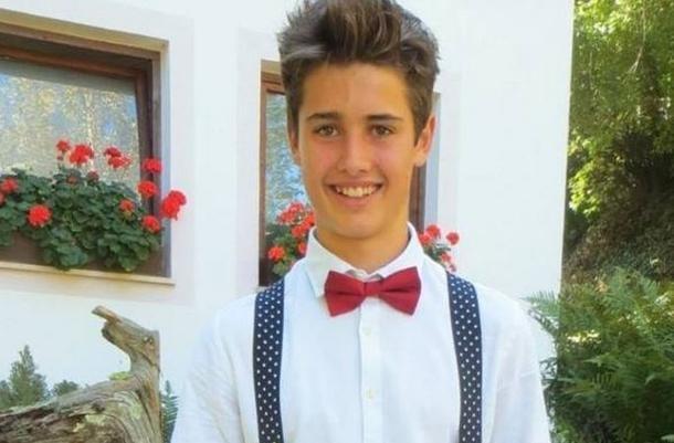Hannes Breitenberger, 18 anni