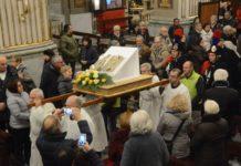 Chiesa: la reliquia di papa Woytjla a Imperia