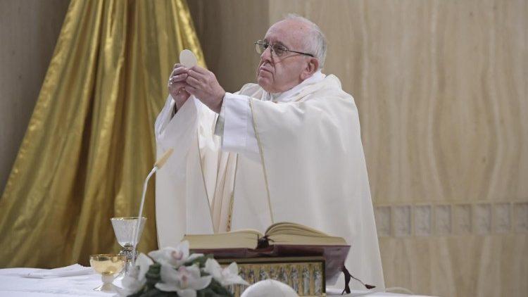 Papa Francesco Santa Marta 8 gennaio 2018