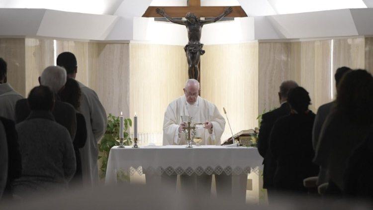 Papa Francesco a Santa Marta