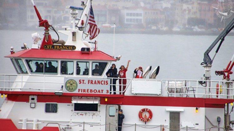 gmg panama. in barca dalla polonia
