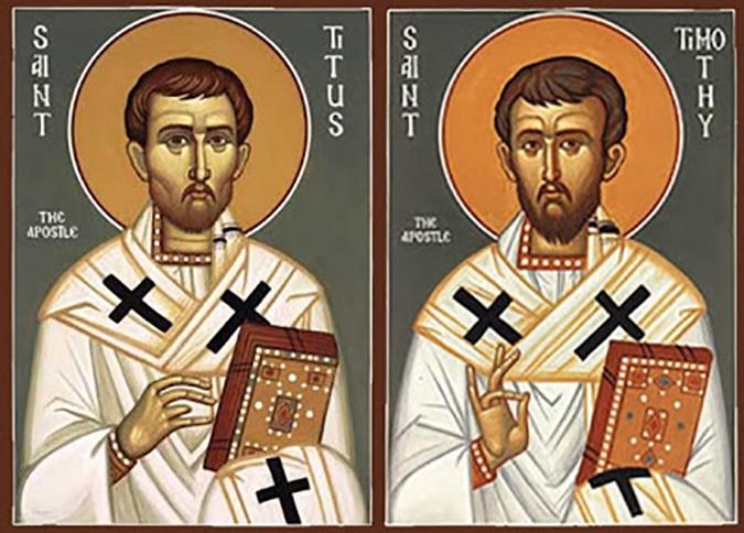 San Tito e Timoteo