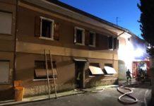 casa bruciata morto bimbo di 5 anni