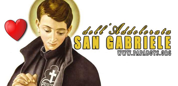 Il Santo di oggi 27 Febbraio 2019 San Gabriele dell'Addolorata, Religioso