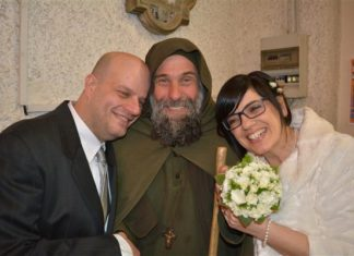 Riccardo e Barbara, coppia di sposi missionari