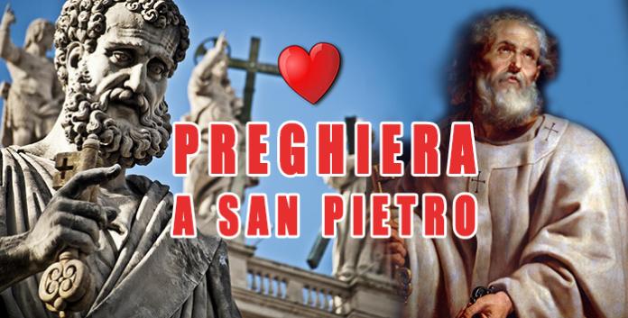 Preghiera a San Pietro Apostolo da recitare oggi, 22 febbraio 2021. Aiutaci ad essere discepoli di Cristo!