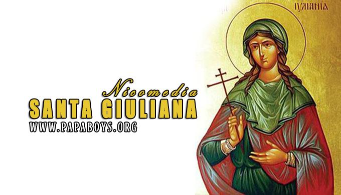 Santa Giuliana di Nicomedia