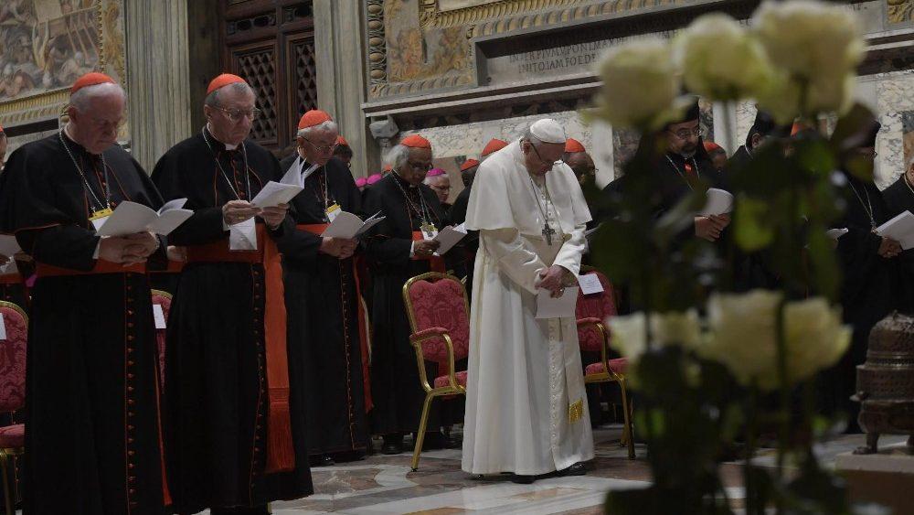 Papa Francesco liturgia penitenziale