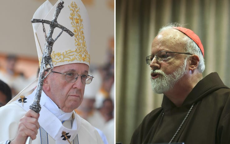 papa francesco.cardinale o malley