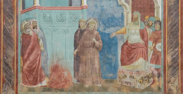 Francobollo San Francesco