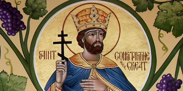 San Costantino, Re e Martire