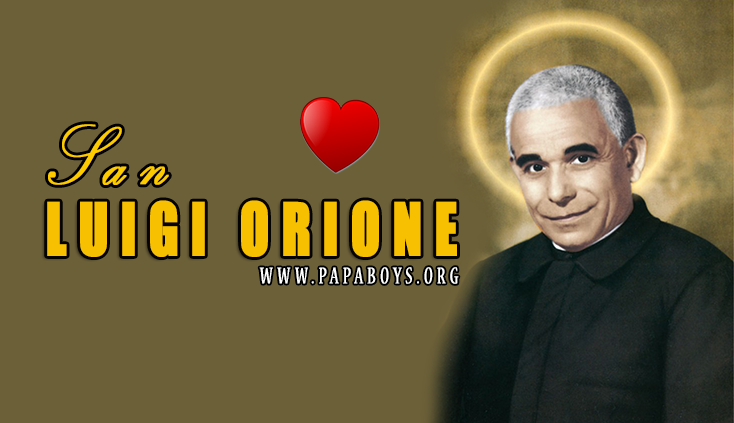 San Luigi Orione 12 Marzo