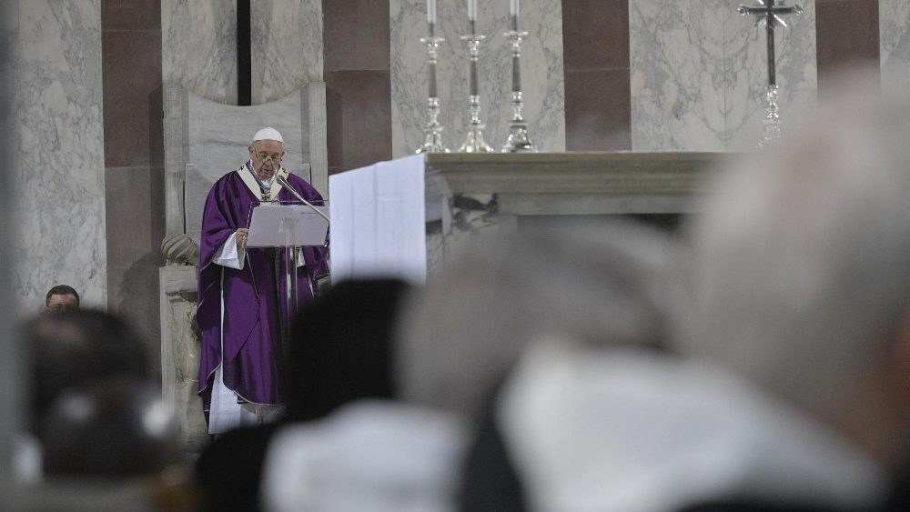 Papa Francesco mercoledì delle Ceneri